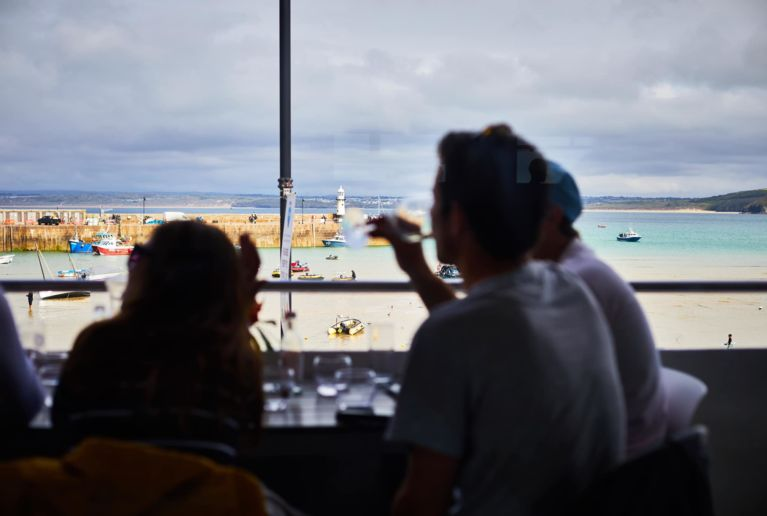 amazing seaview drinks photo