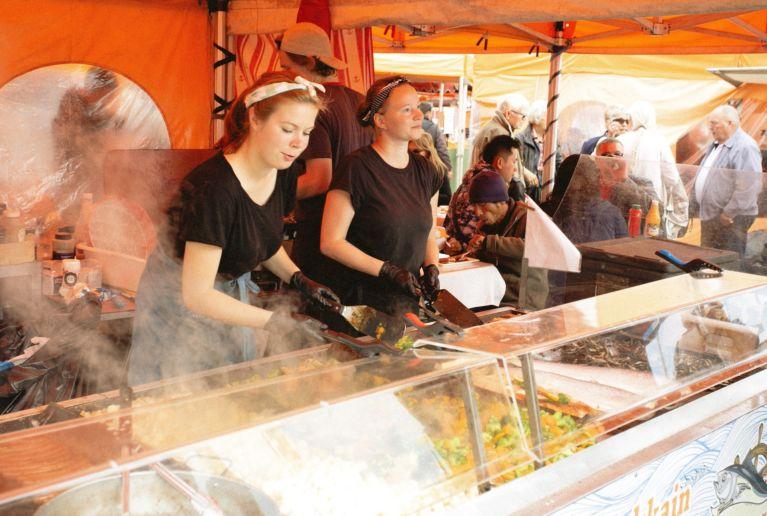 Street food festival pic
